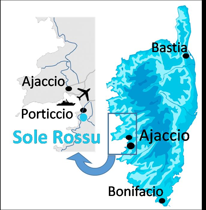 Carte emplacement Sole Rossu